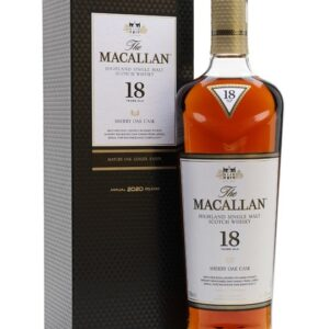 Macallan 18 years for sale is an outstanding bourbon choice with different flavors like The Macallan 18 years Double Cask and the Macallan 18 years Sherry Oak